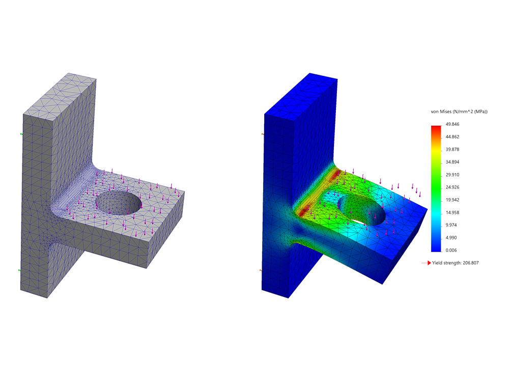 TECMAT_Gummi-Kunststoff-Industriekomponenten_Beratungs-und-Entwicklungspartner_FEM-Analyse
